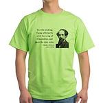 Charles Dickens 24 Green T-Shirt