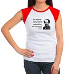 Charles Dickens 24 Women's Cap Sleeve T-Shirt