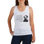 Charles Dickens 24 Women's Tank Top
