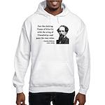 Charles Dickens 24 Hooded Sweatshirt