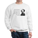 Charles Dickens 24 Sweatshirt