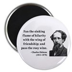 Charles Dickens 24 Magnet