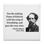 Charles Dickens 24 Tile Coaster