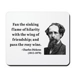 Charles Dickens 24 Mousepad