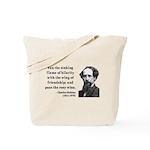 Charles Dickens 24 Tote Bag