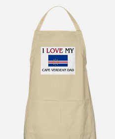 I Love My Cape Verdean Dad BBQ Apron