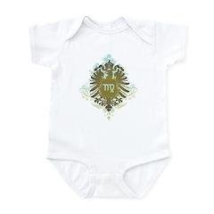 Stylish Vintage Virgo Infant Bodysuit