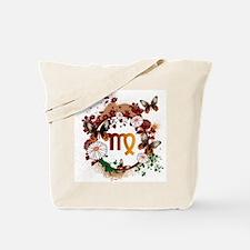 Psychedelic Virgo Tote Bag