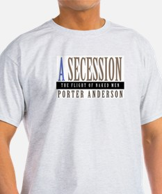 A SECESSION Ash Grey T-Shirt