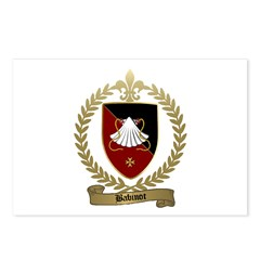 BABINOT Family Crest Postcards (Package of 8)