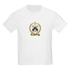 BARRIEAU Family Crest Kids T-Shirt