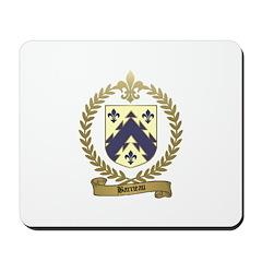 BARRIEAU Family Crest Mousepad