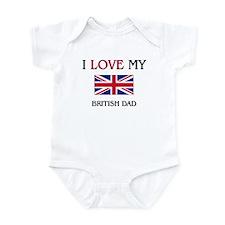 I Love My British Dad Onesie