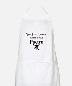 I be a Pirate BBQ Apron