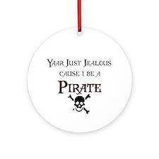 I be a Pirate Ornament (Round)