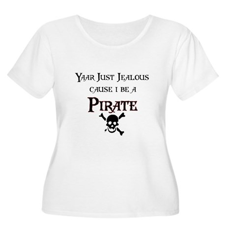 I be a Pirate Women's Plus Size Scoop Neck T-Shirt