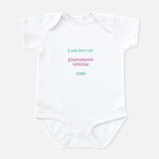Infant Bodysuit Southampton Hospital 11968