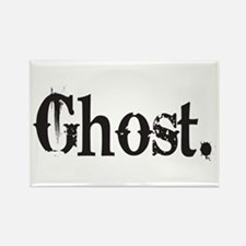 Grunge Ghost Rectangle Magnet (100 pack)