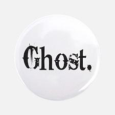 """Grunge Ghost 3.5"""" Button"""