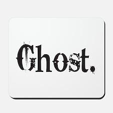 Grunge Ghost Mousepad