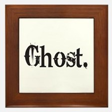Grunge Ghost Framed Tile