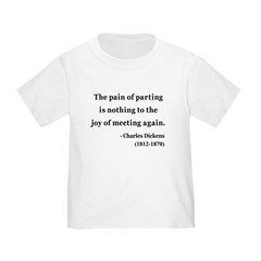 Charles Dickens 23 Toddler T-Shirt