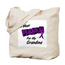 I Wear Purple 8 (Grandma) Tote Bag