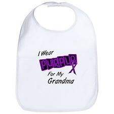 I Wear Purple 8 (Grandma) Bib
