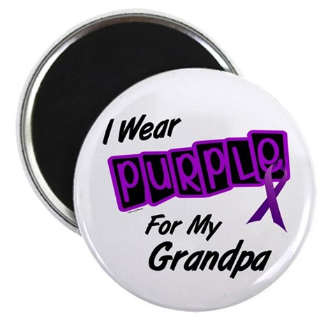 I Wear Purple 8 (Grandpa) Magnet