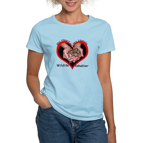Wildlife Rehab Women's Light T-Shirt
