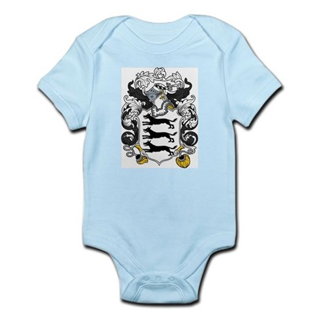 Lovett Family Crest Infant Creeper