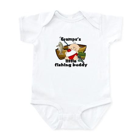 Gramps's Fishing Buddy Infant Bodysuit