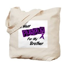 I Wear Purple 8 (Brother) Tote Bag
