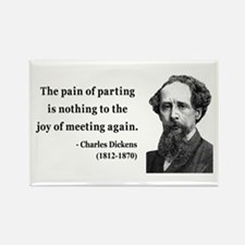 Charles Dickens 23 Rectangle Magnet (10 pack)