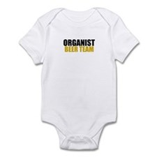 Organist Beer Team Infant Bodysuit