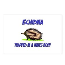 Echidna Trapped In A Man's Body Postcards (Package
