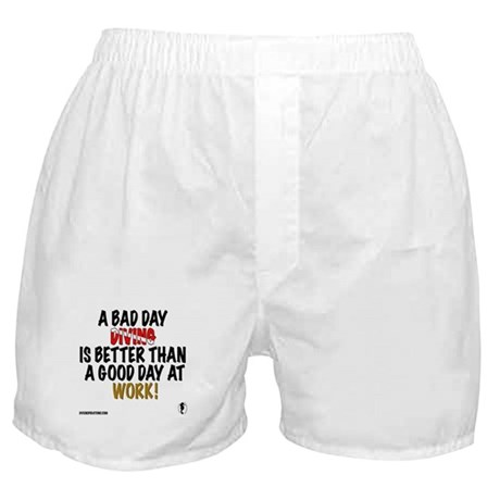 A Bad Day Diving Boxer Shorts