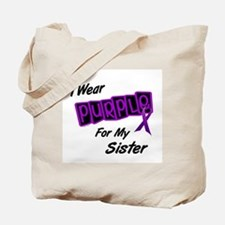 I Wear Purple 8 (Sister) Tote Bag