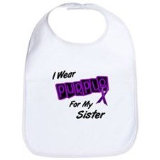 I Wear Purple 8 (Sister) Bib
