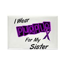 I Wear Purple 8 (Sister) Rectangle Magnet