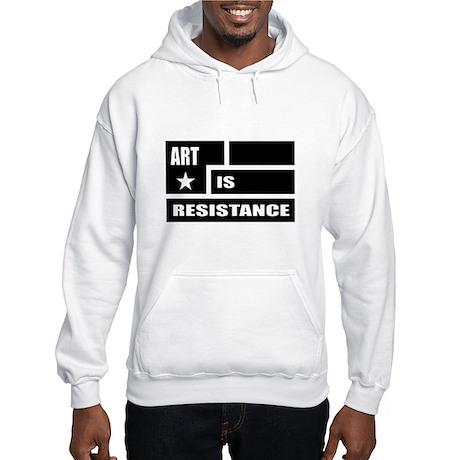 Resistance: Black Hooded Sweatshirt