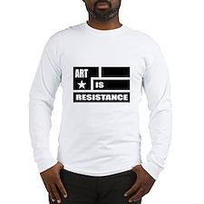 Resistance: Black Long Sleeve T-Shirt
