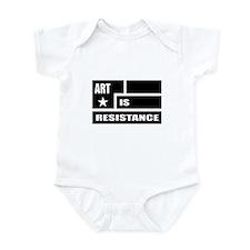 Resistance: Black Infant Bodysuit