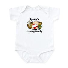 Papaw's Fishing Buddy Infant Bodysuit