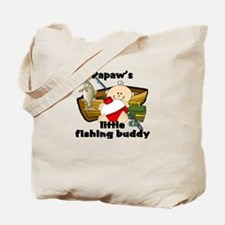 Papaw's Fishing Buddy Tote Bag