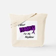 I Wear Purple 8 (Nephew) Tote Bag