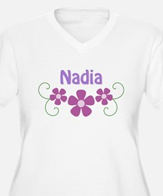 Nadia Pink Flowers T-Shirt