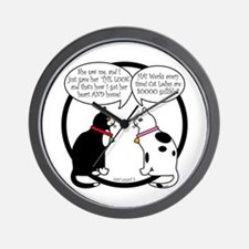 CAT CHAT 2 Wall Clock