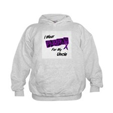 I Wear Purple For My Uncle 8 Hoodie