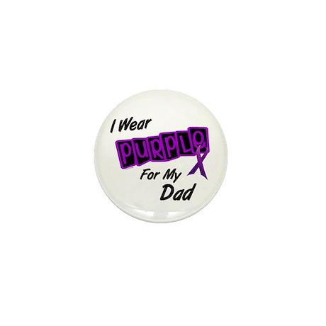 I Wear Purple 8 (Dad) Mini Button
